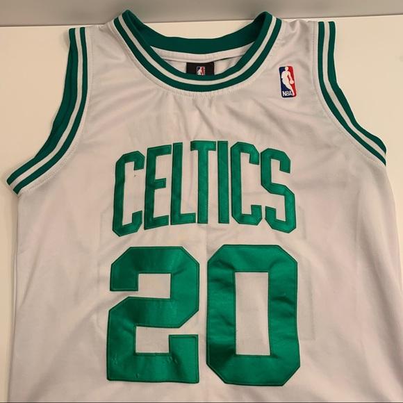 huge discount 102e0 bbfc0 Adidas Authentic Boston Celtics Ray Allen Jersey M